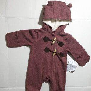 UGG One Pieces - UGG Baby Quilted Jersey Toggle One Piece (18M)